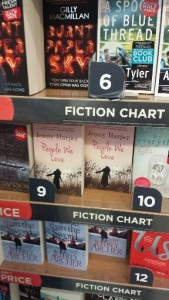 In the charts at Heathrow Terminal Five...