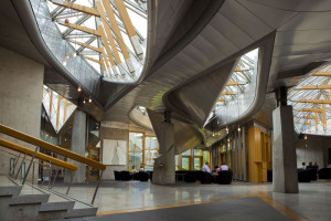 One of the most beautiful spaces in the building. Pic-AndrewCowan/Scottish Parliament Photograph ©2010 Scottish Parliamentary Corporate Body.  Image © Scottish Parliamentary Corporate Body – 2012. Licensed under the Open Scottish Parliament Licence v1.0.